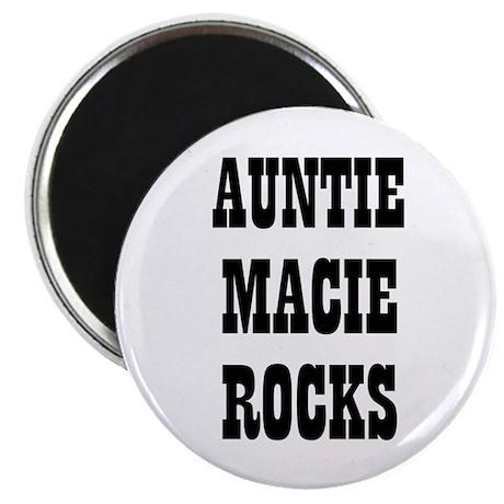 """AUNTIE MACIE ROCKS 2.25"""" Magnet (10 pack)"""