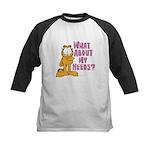What About My Needs? Kids Baseball Jersey