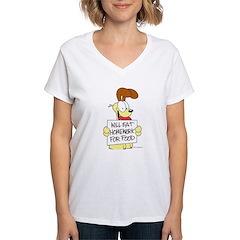 Odie Will Eat Homework Shirt