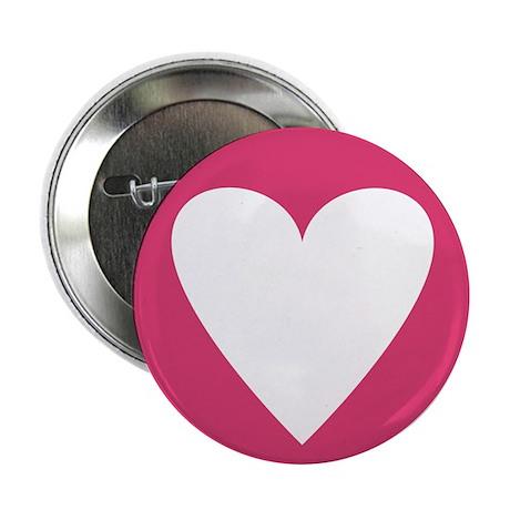 Pink Candy Heart Button