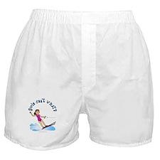 Light Water Skiing Boxer Shorts