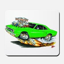 1970 Roadrunner Green Car Mousepad