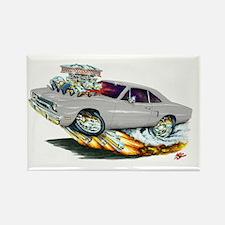 1970 Roadrunner Silver/Grey Car Rectangle Magnet (
