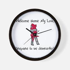 Cute Homecoming Wall Clock