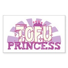 Tofu Princess Rectangle Stickers