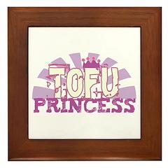 Tofu Princess Framed Tile