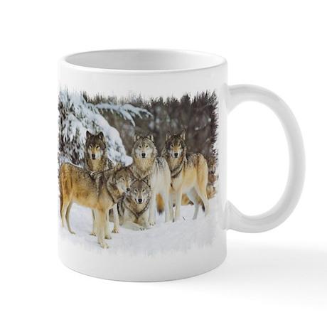 """Wolf Pack"" Mug"