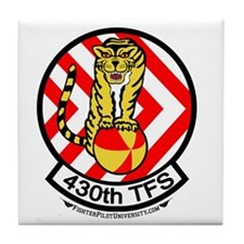 430th TFS Tile Coaster