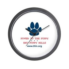 Power to the Puppy! Wall Clock