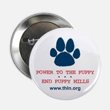 "Power to the Puppy! 2.25"" Button"