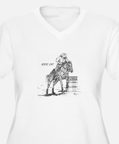 Ride On! Plus Size T-Shirt