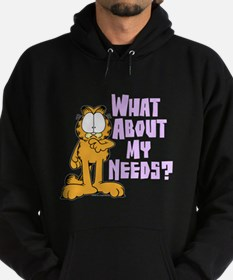 What About My Needs? Hoodie (dark)