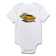 1970 Roadrunner Orange Car Infant Bodysuit