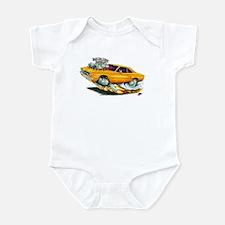 1970 Roadrunner Orange Car Infant Bodysuit