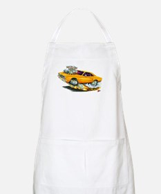 1970 Roadrunner Orange Car BBQ Apron
