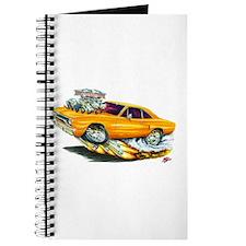 1970 Roadrunner Orange Car Journal