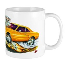 1970 Roadrunner Orange Car Mug