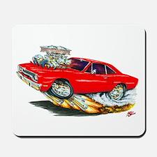 1970 Roadrunner Red Car Mousepad