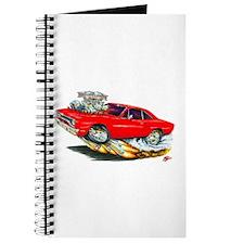 1970 Roadrunner Red Car Journal