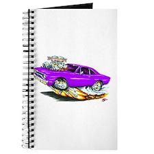 1970 Roadrunner Purple Car Journal