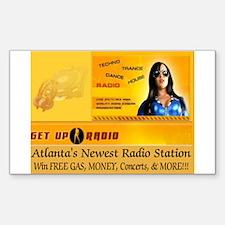 Get Up Radio Gear Decal