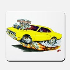 1970 Roadrunner Yellow Car Mousepad