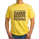 Col. Potter Team Tshirt Yellow T-Shirt