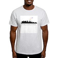 Fireworks over Philadelphia T-Shirt