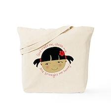 God Brought Me Home Tote Bag