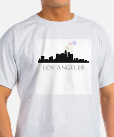 Fireworks over LA T-Shirt
