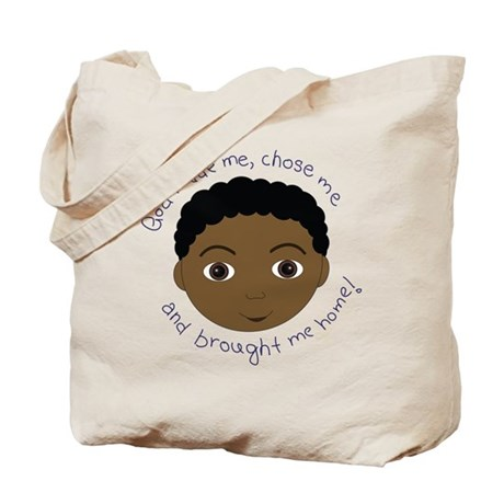 God Brought Me Home African B Tote Bag