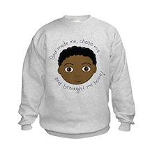 God Brought Me Home African B Sweatshirt