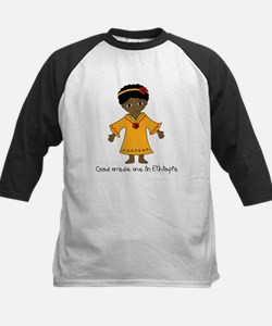 Made Me in Ethiopia-Girl Tee