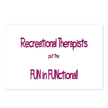 Recreational Therapist Postcards (Package of 8)
