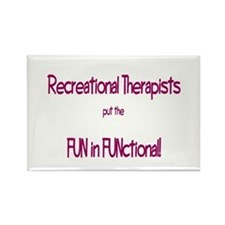 Recreational Therapist Rectangle Magnet