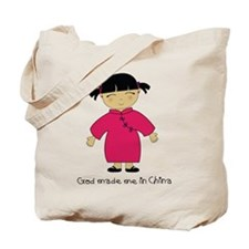 Made Me in China-Girl Tote Bag