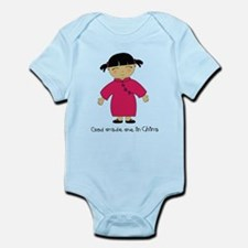Made Me in China-Girl Infant Bodysuit