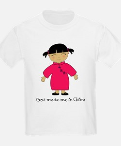 Made Me in China-Girl T-Shirt