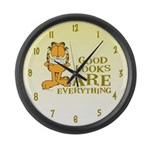 Good Looks are Everything! Large Wall Clock