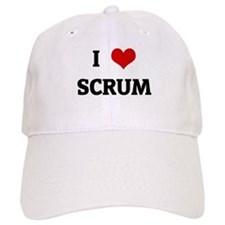 I Love SCRUM Baseball Cap