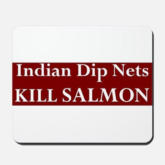 The Real Salmon Killers Mousepad