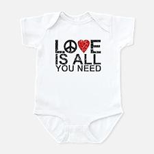 Love Is All Infant Bodysuit