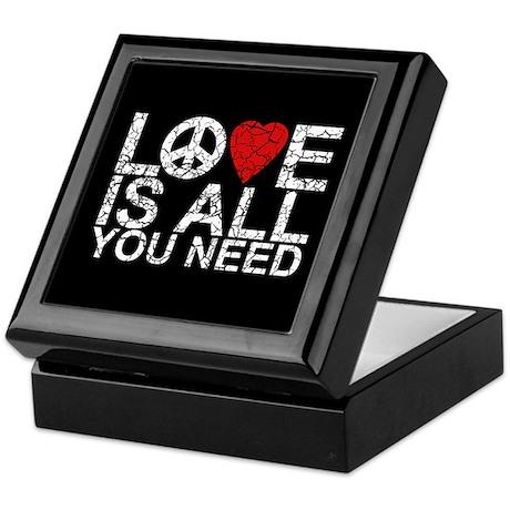 Love Is All Keepsake Box