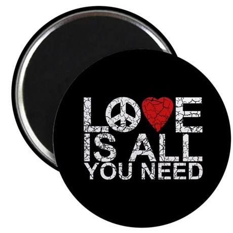 """Love Is All 2.25"""" Magnet (10 pack)"""