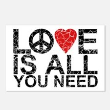 Love Is All Postcards (Package of 8)
