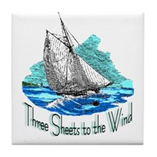 Three Sheets to the Wind Tile Coaster