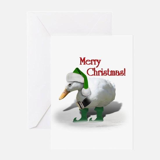 Cute Goose Greeting Card