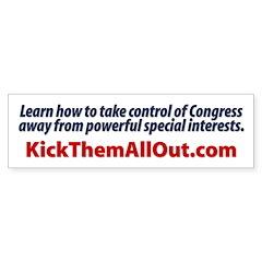End Special Interest Control of Congress Bumper Sticker