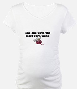One With Most Yarn Wins Shirt