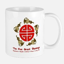 Five Great Blessings Mug
